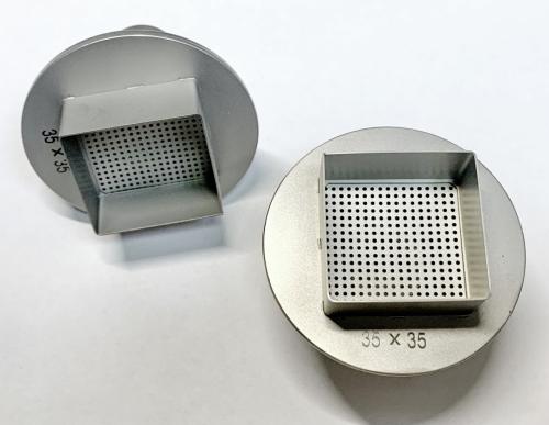 Рассекатель для пайки воздухом на фен 35х35 мм