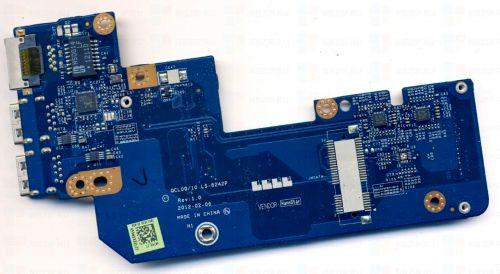 Dell Inspirion 5520, 7520, 17R USB Board ls-8242p