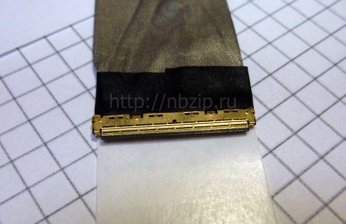 DC02001F010 Шлейф матрицы Acer E1-521, E1-531, E1-571 DC02001FO10, 50.M09N2.005 40 pin