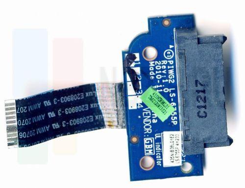 Плата DVD привода Lenovo G570, G575 PIWG2 LS-6755P