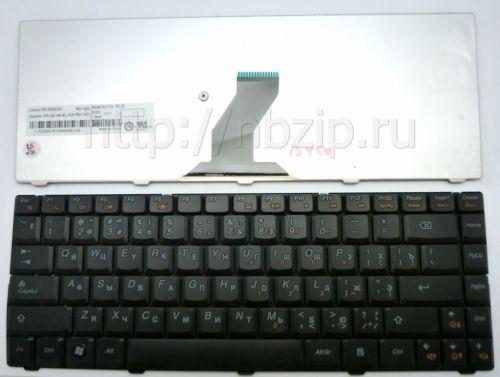 Клавиатура ноутбука Lenovo IdeaPad B450 черная
