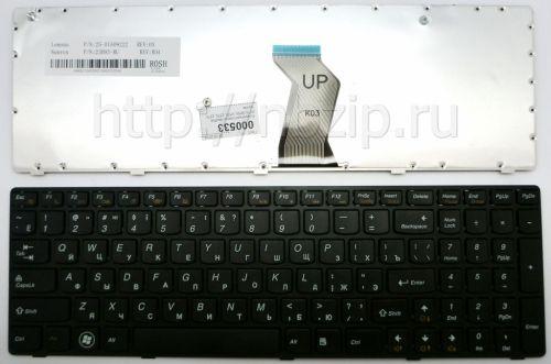 Клавиатура ноутбука Lenovo IdeaPad B570, B570A, B570E,