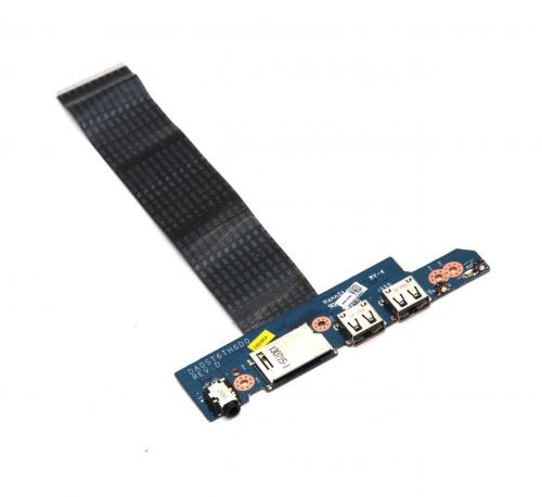 DA0ST6TH6D0 Lenovo IdeaPad Flex 15 20309 Dual USB Audio Power Button Board с кабелем