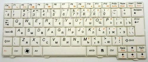Клавиатура ноутбука Lenovo S10-2, S10-3C, S11