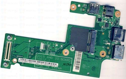 Dell Inspiron 15R M5010 10612-1 48.4HH20.011 DG15 AMD IO Board DC USB Board