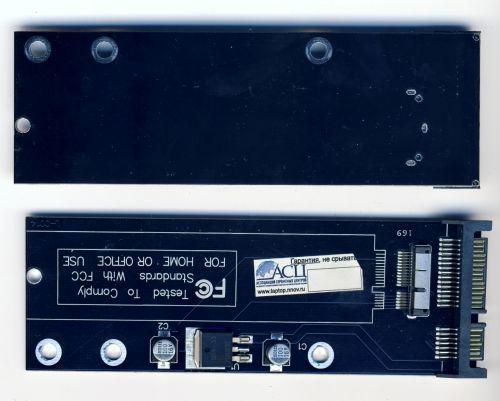 Переходник SSD на SATA для Macbook