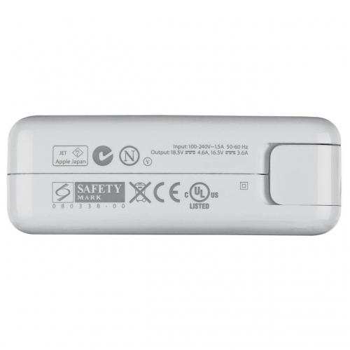 Блок питания Apple MacBook MagSafe 1 , 85w A1344 100% оригинал