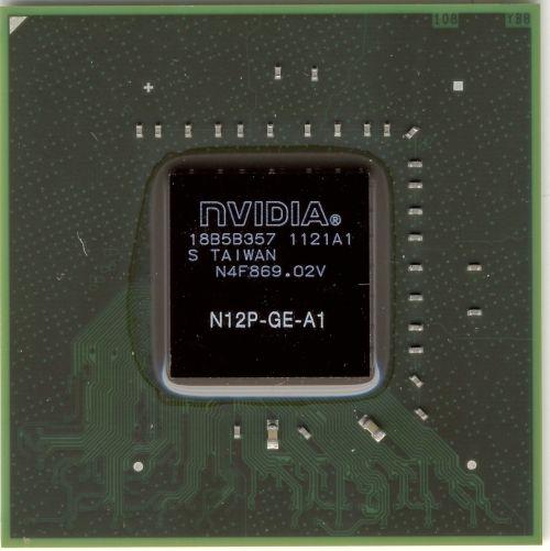 N12P-GE-A1 видеочип nVidia GT525M