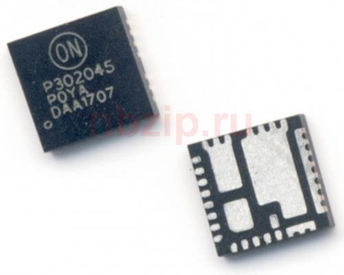 NCP302045 P302045 integrates a MOSFET driver