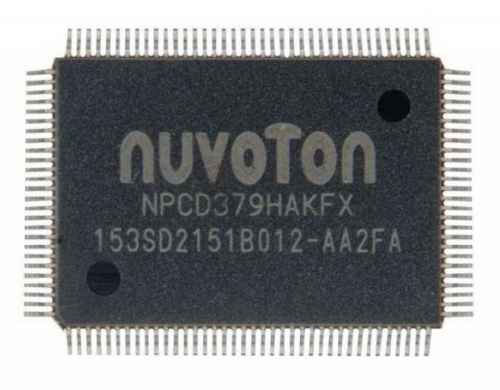 NPCD379HAKFX мультиконтроллер NUVOTON