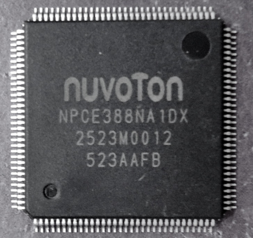 NPCE388NA1DX Мультиконтроллер Nuvoton