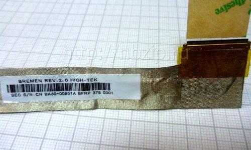 BA39-00951A Шлейф матрицы Samsung R528, R530 ba39-00929a