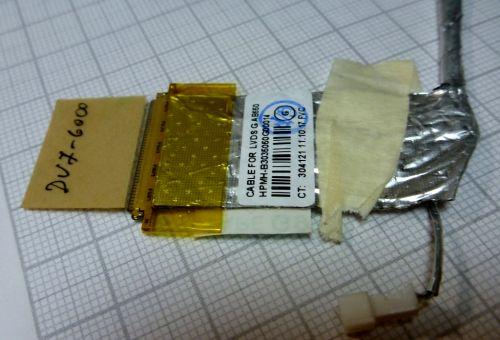 50.4RN10.022 Шлейф матрицы HP Pavilion dv7-6000, dv7-6b00, dv7-6c00