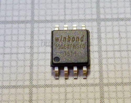 Микросхема BIOS W25Q64FWSIG 8mb