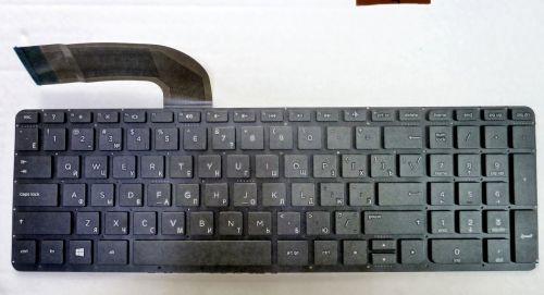 Клавиатура для ноутбука HP 15-p, 17-f с подсветкой !