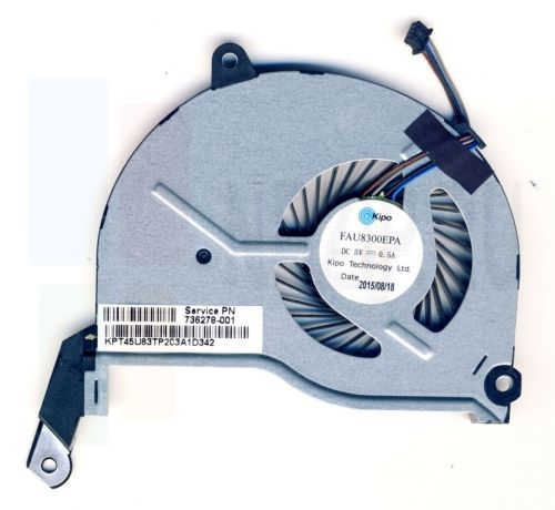 DFS200405010T вентилятор для ноутбука HP Pavilion 15-N серии