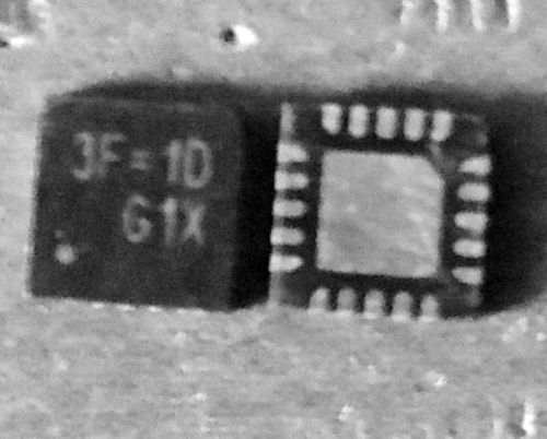 RT6575BGQW RT6575B 3F=1D 3F=EA 3F=FJ QFN-20
