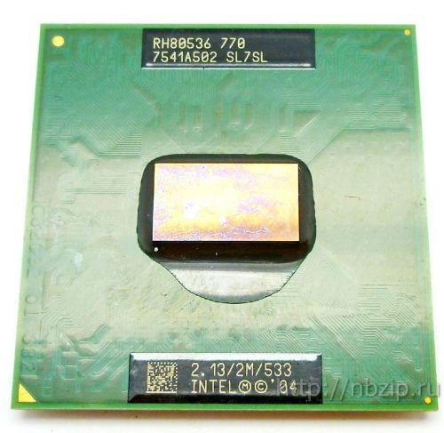 Intel Pentium M 770 p4m sl7sl 2,13 ГГц 2M 533 МГц FSB Socket 479 Mobile