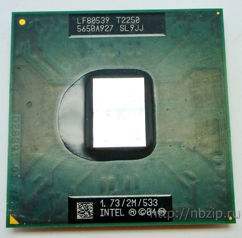 Intel Core DUO T2250 1.73GHz 2M 533GHz SL9JJ