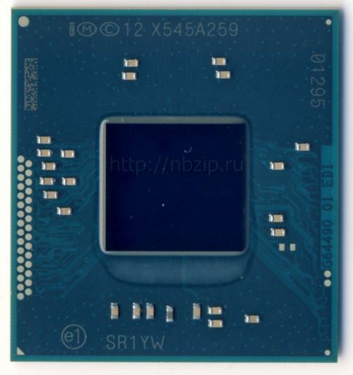 SR1YW Процессор ноутбука Intel Pentium Mobile N3540 BGA1170 2.16 ГГц