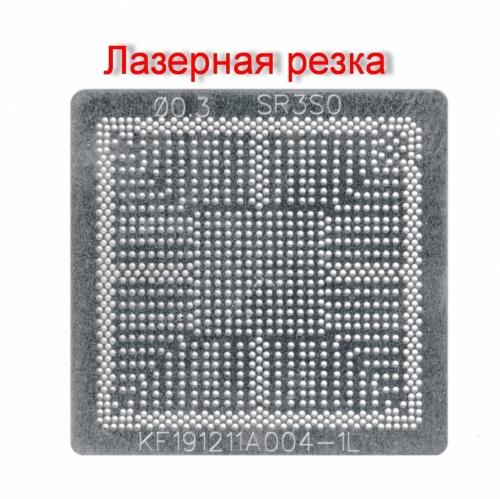 Трафарет прямого нагрева Intel BGA1090 , SR3S0, SR3S1, N4100 , N4000, N5000 Gemini Lake .Лазер !