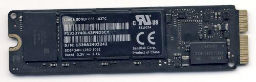 "Macbook Air 13 (2013) , MacBook Pro 13"" and 15"" Retina (Late 2013/Mid 2014) SSD - 128 GB"