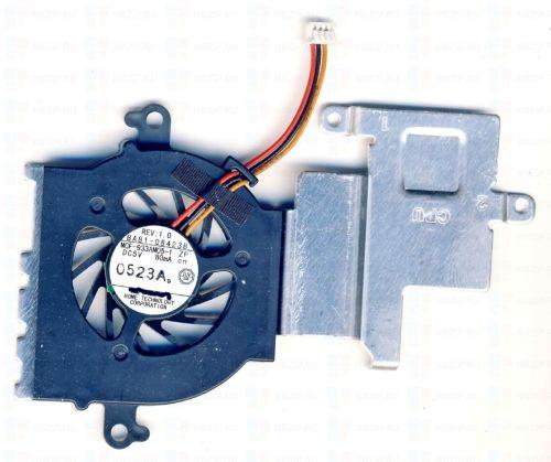 Вентилятор (кулер) для ноутбука Samsung N148, N150, NB30, N210