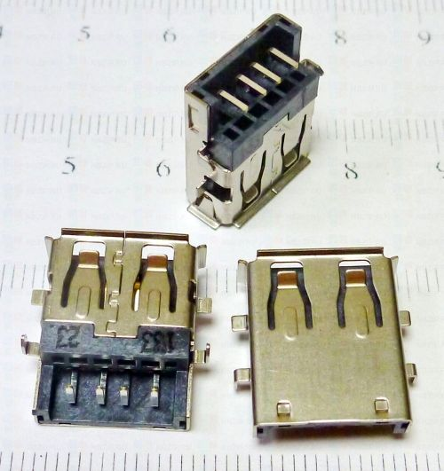 Разъем USB ноутбука Samsung R423 R428 R430 R540 R580 R780 Notebook Laptop USB Jack 2.0 USB Connector 16mm