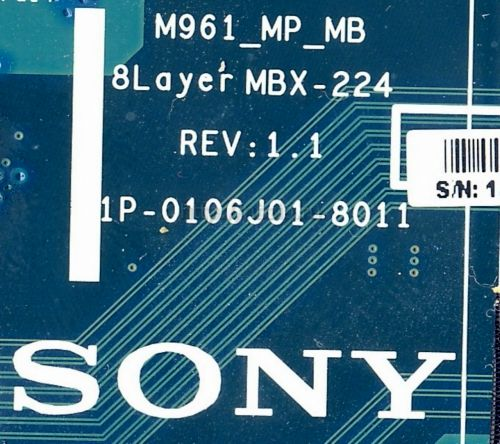 Купить материнскую плату ноутбука Sony VPC-EB1E1R/WI, PCG-71211V M961 MBX-224