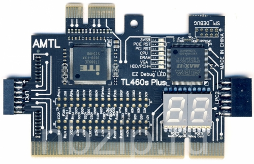 POST карта TL460S PLUS 2.0