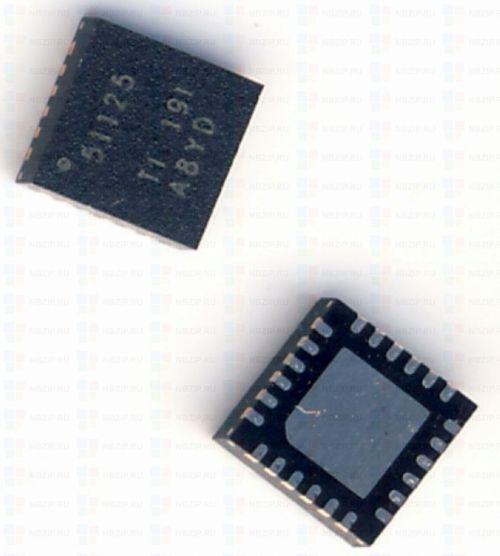 Купить TPS51125 ШИМ Texas Instruments QFN-24