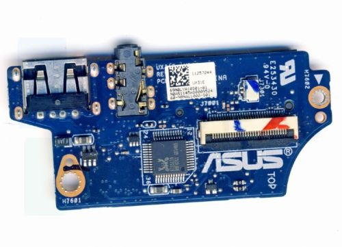 ASUS ZENBOOK UX31E AUDIO USB CARD READER BOARD