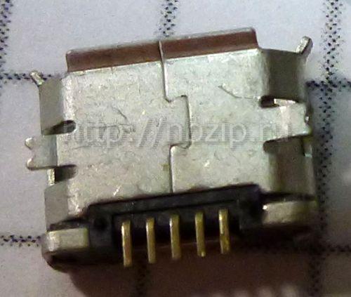 разъем micro USB тип1