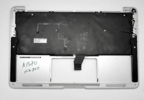Верхняя панель Apple MacBook Air 11 A1370 с клавиатурой Rus