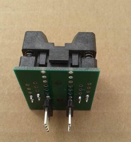 Адаптер для программатора Soic8 Sop8 - Dip8 200mil - 208mil