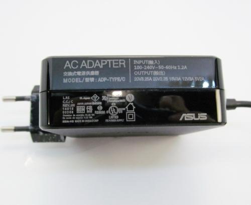 Блок питания Asus 20V/3.25A (Type-C) 65W для Asus, Xiaomi и др.