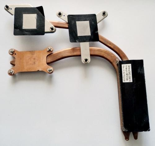 Термотрубка ,радиатор Samsung R700, R710 BA62-00451A