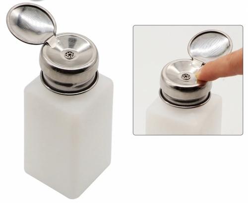 Бутылочка с дозатором для химии пластик 120 мл