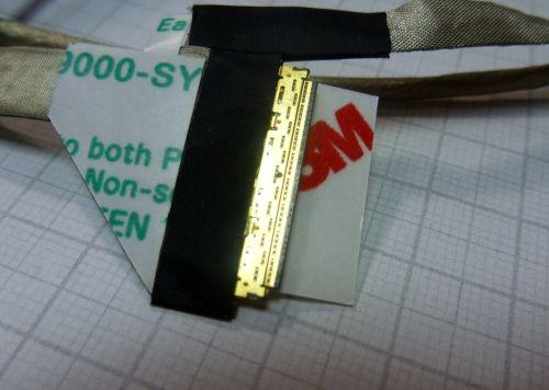 DC020011Z10 Шлейф матрицы Toshiba  C660, C660D, C665, C665D, P750