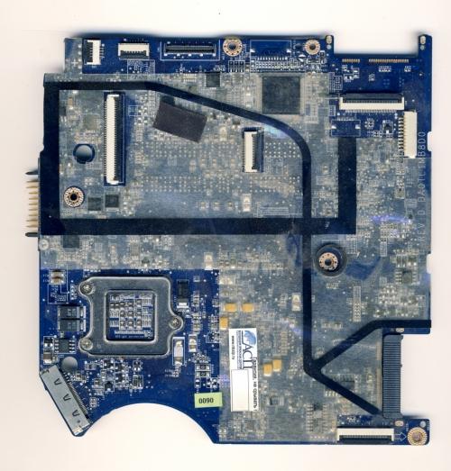 da0tl1mb8d0 материнская плата для ноутбука Toshiba Satellite T110 T115