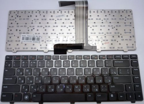 Клавиатура для ноутбука Dell Inspiron 14R, M4040, M4110, M5040, M5050, M5040, N4110, N4050, N5040, N5050, XPS 15, L502X, Vostro 1540, 3350, 3450, 3550, 3555, 5520, V131