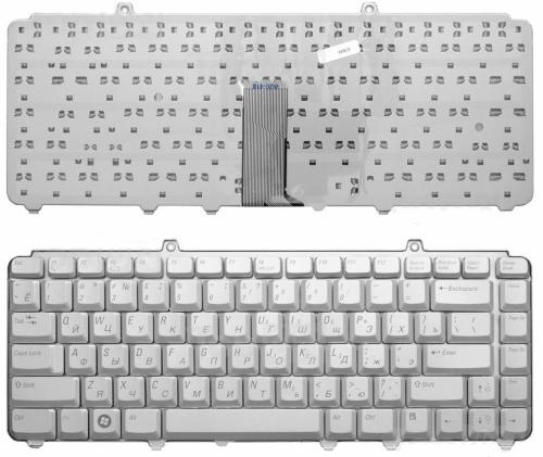 Клавиатура ноутбука Dell 1420, 1525, 1540,1545,серебро