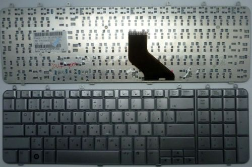 Клавиатура ноутбука HP Pavilion dv7-1000 серебристая