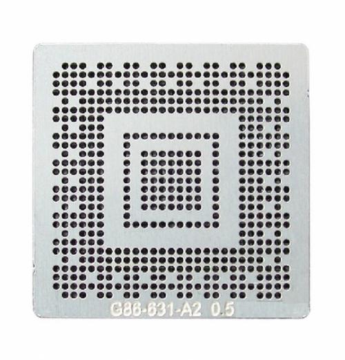 Трафарет прямого нагрева G86-631-A2 GO7400-N-A3 N10M-GE2-S 0.50 мм