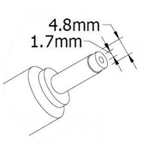 HP 19V 4,74A (90W) 4,8x1,7мм