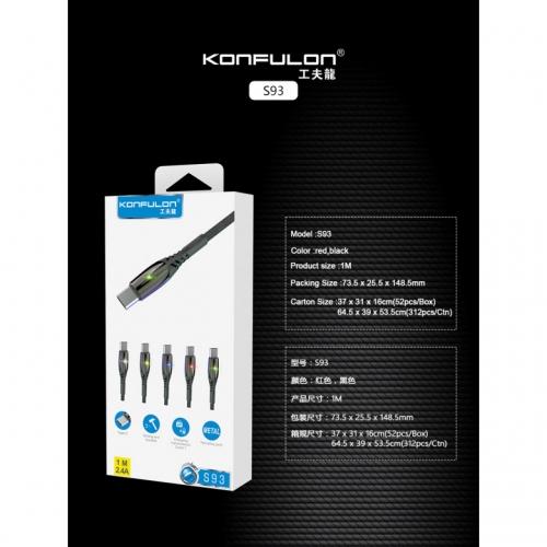 Качественный прочный кабель USB Type C - USB длина 1 метр