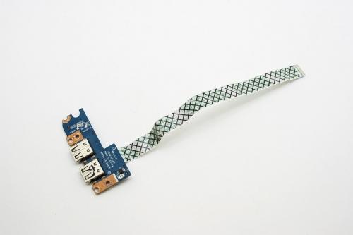 Плата с разъемами USB Q5WV8 LS-8331P для ноутбука Acer Aspire V3-551, V3-551G