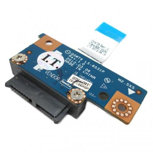 Q5WT6 LS-8531P Плата SATA для DVD Acer Aspire E1-521, E1-531, E1-571, Packard Bell TE11