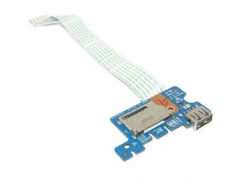 Плата USB + cardreader HP 15-ay, 15-ac, 15-af, 15t-ac, 15z-af, 15-ba, HP 250 G4, HP 250 G5, HP 255 G5, LS-D702P
