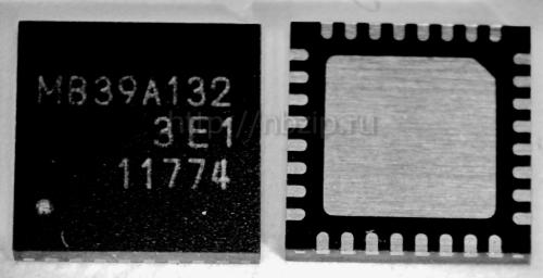 Купить MB39A132 контроллер заряда батареи Fujitsu QFN